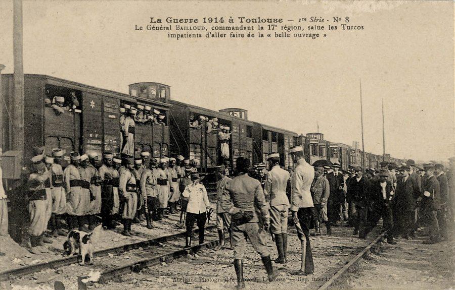 La guerre 1914 à toulouse. 1re série n° 8.