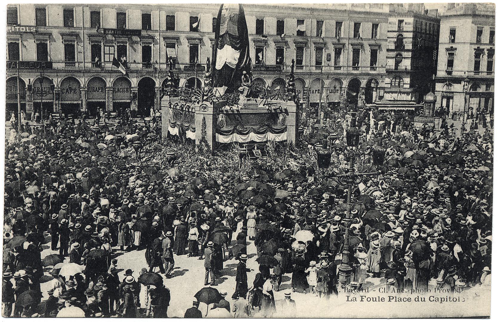 Toulouse. Retour du 17e Corps.